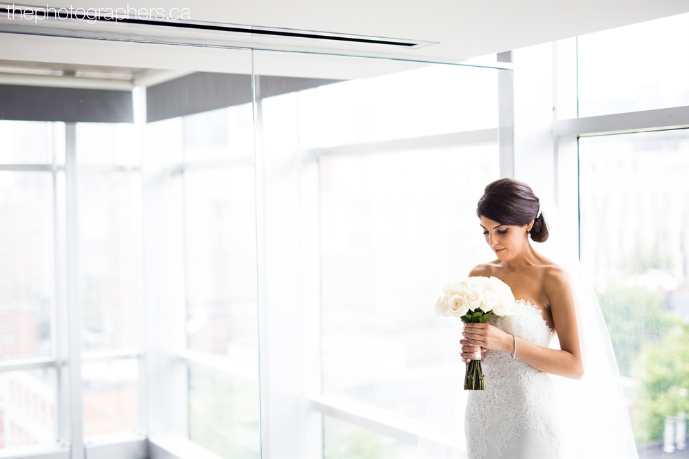 Bride in Hotel 10 Penthouse