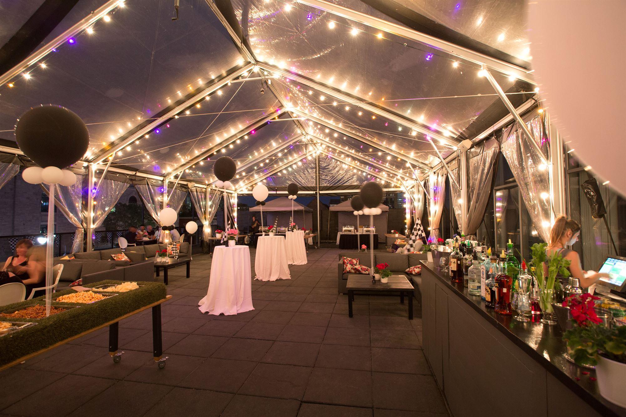 Hotel 10 Terrace Evening Event