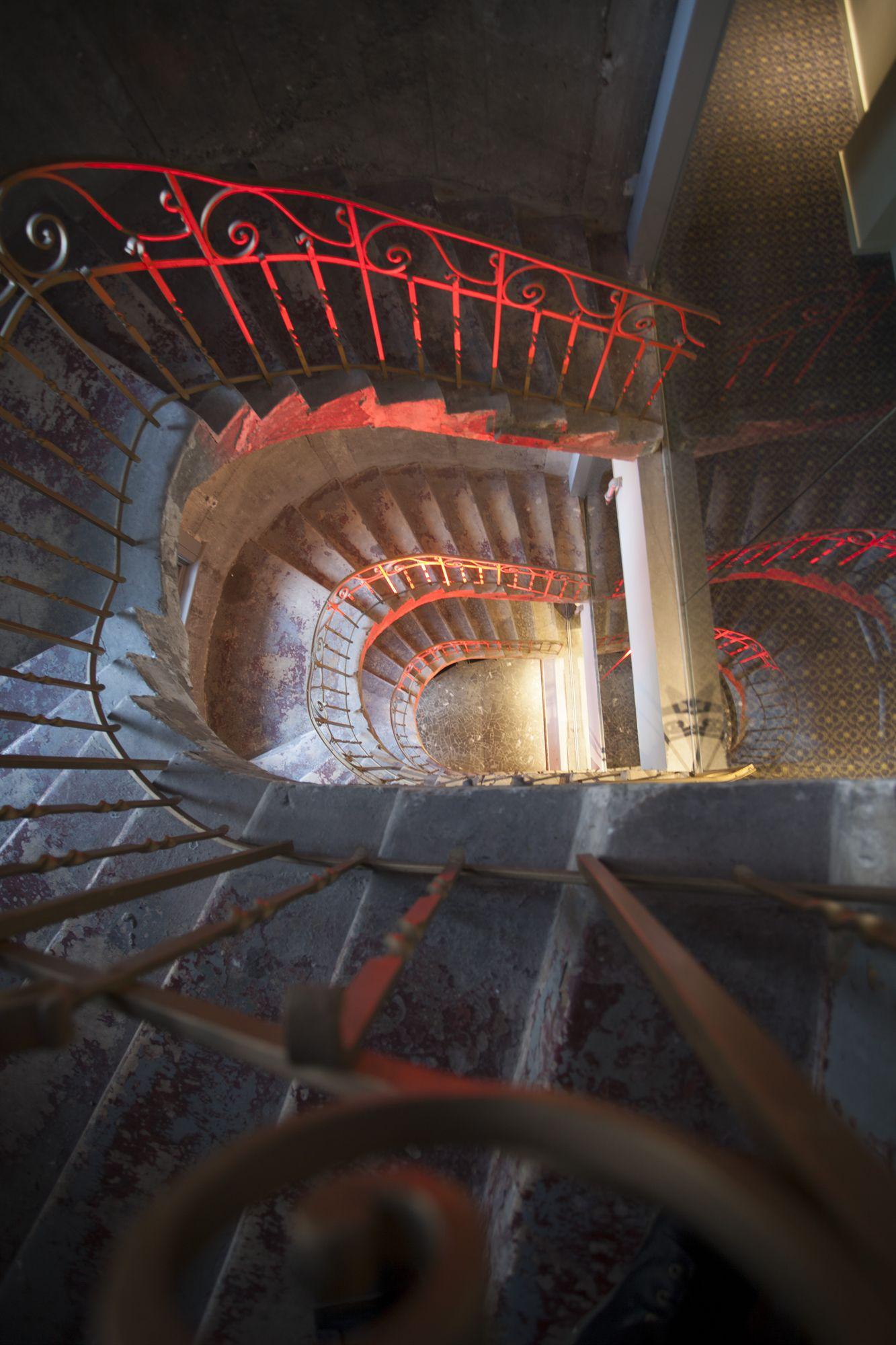 Godin Centennial Stairwell at Hotel 10