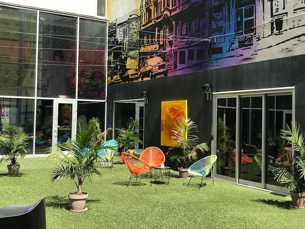 Hotel 10 Terrace Mural