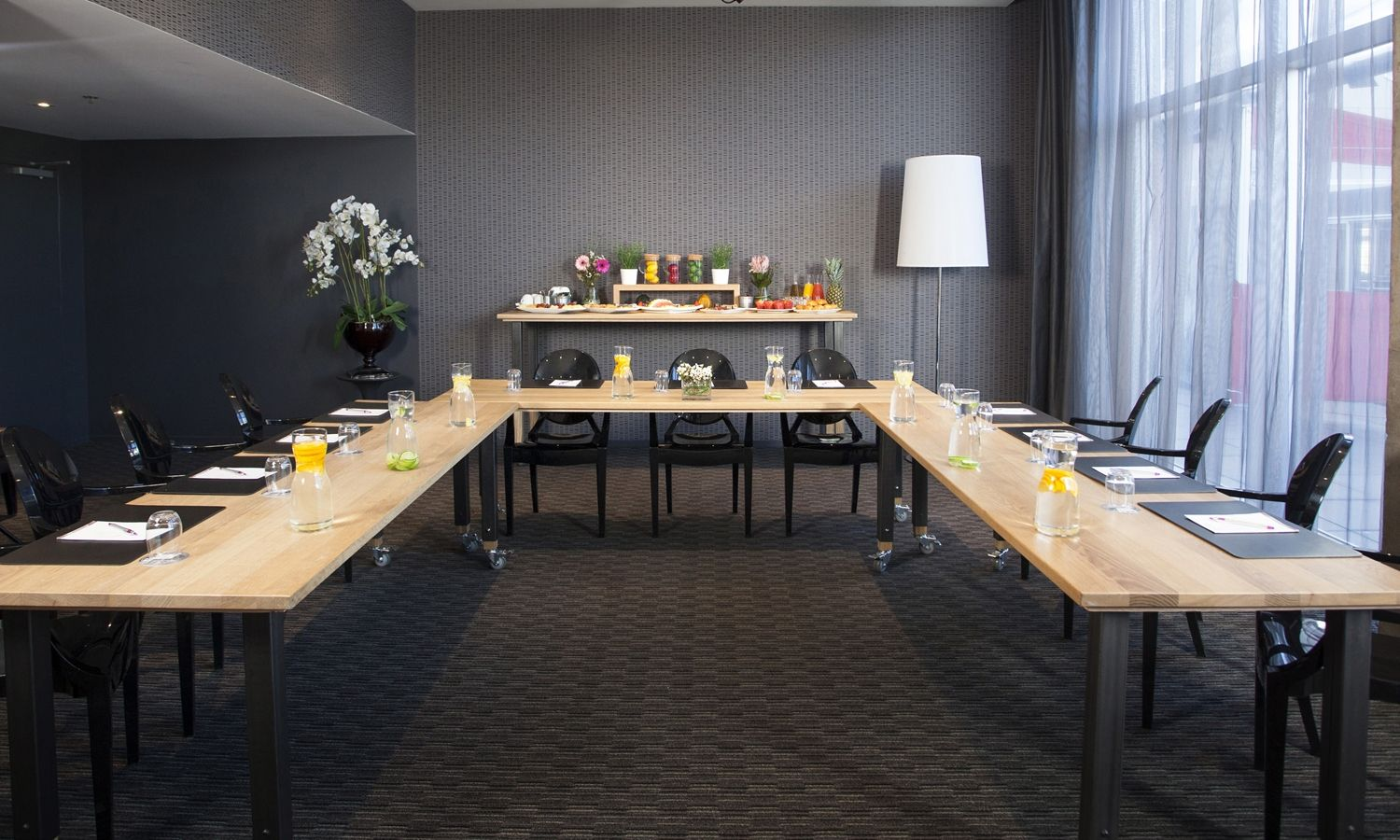 Image of a conference room at our Corporate Event hosting Hotel in Montreal