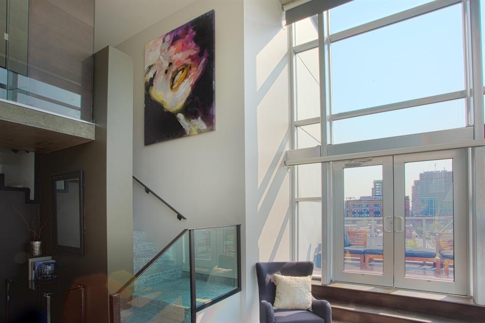 Penthouse Stairway & Balcony