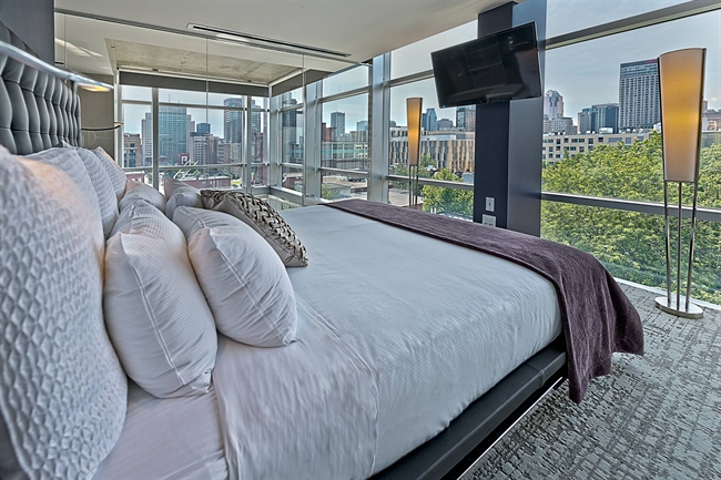 Penthouse Suite in Montreal