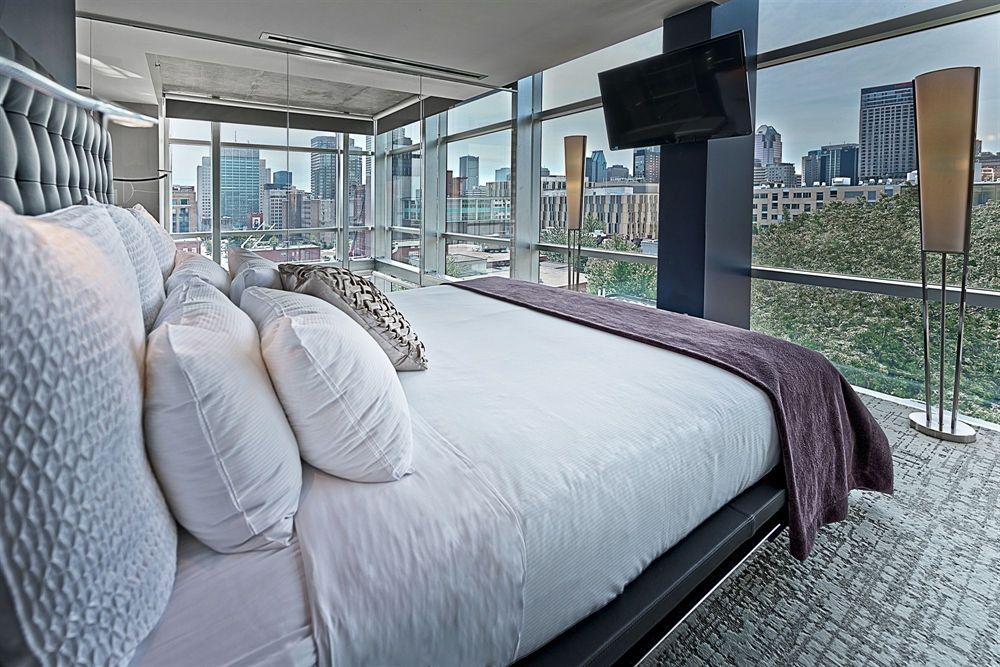 Chambre à coucher Penthouse avec vue