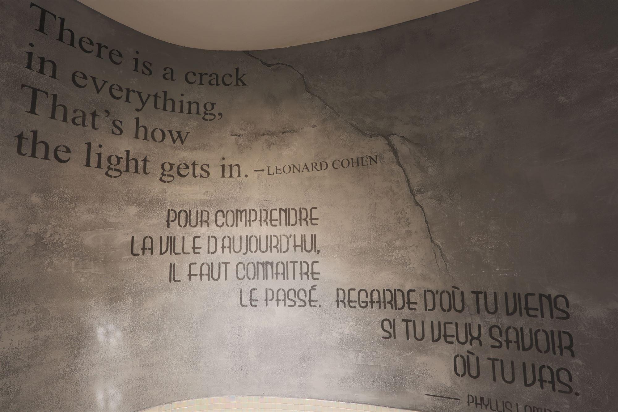 Mural Citation, espaces publiques-HOTEL10