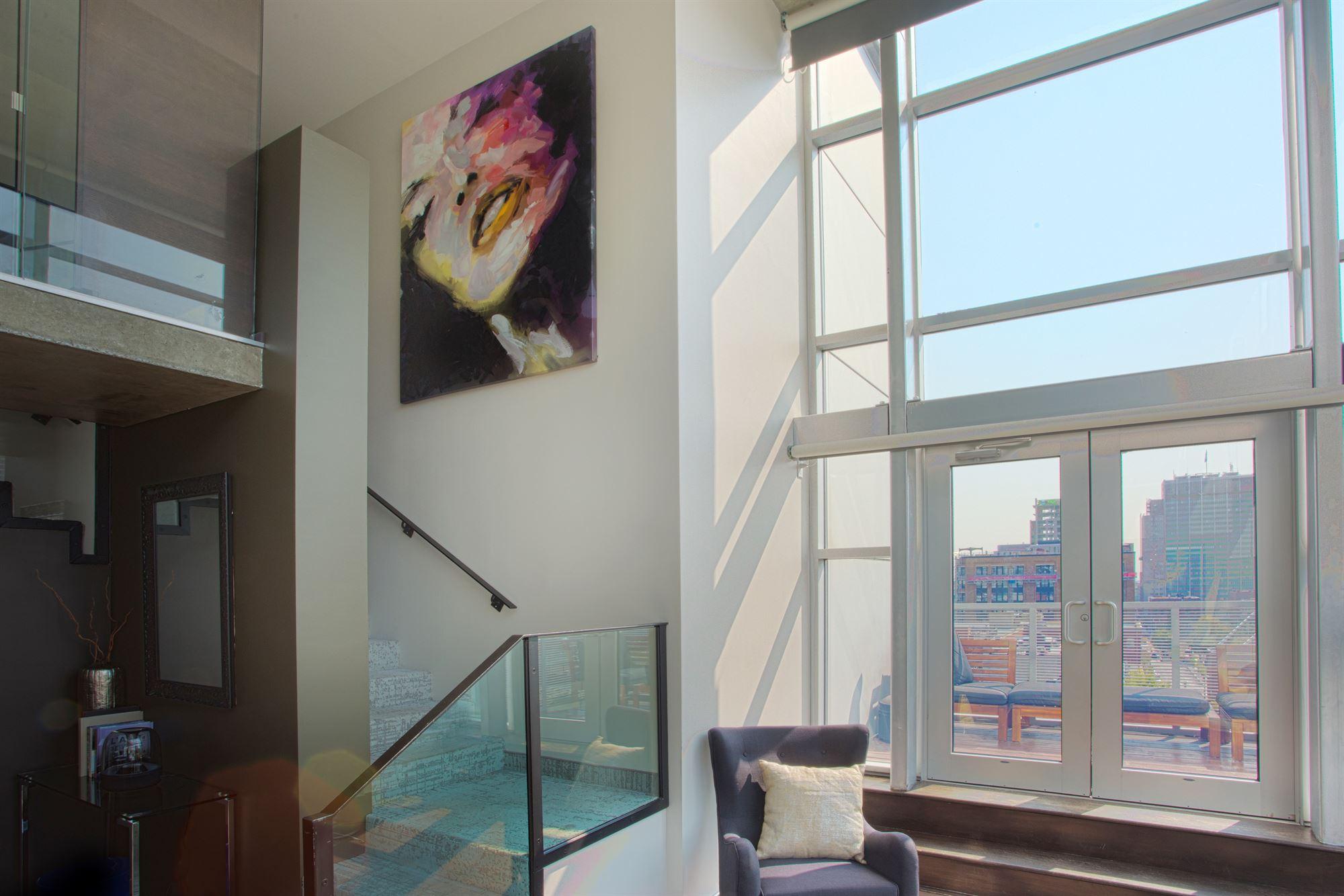 Salon Penthouse Balcon HOTEL10