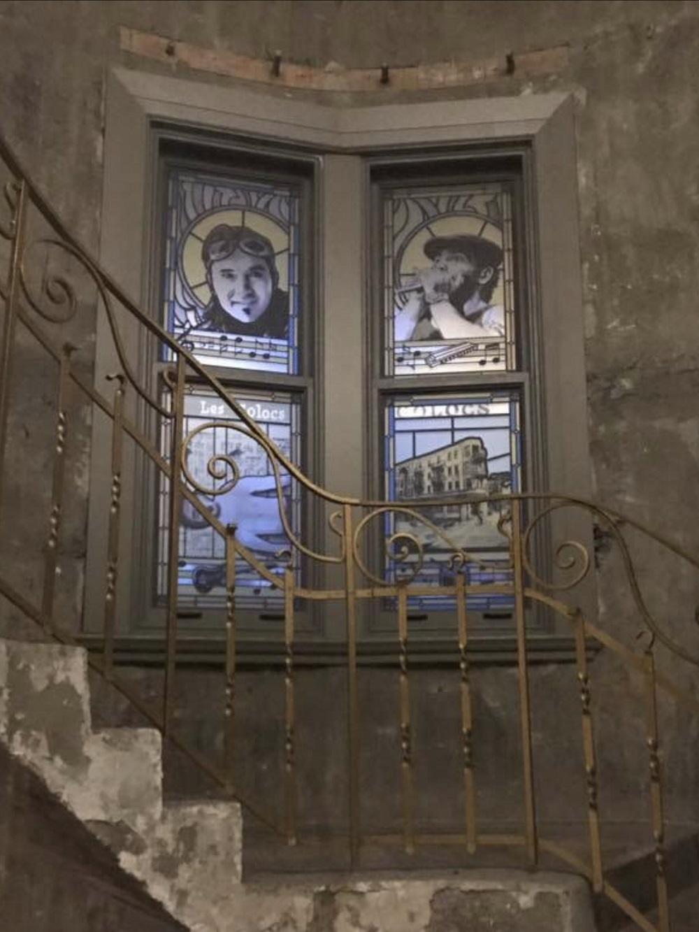 Vitrail Escalier Godin HOTEL10
