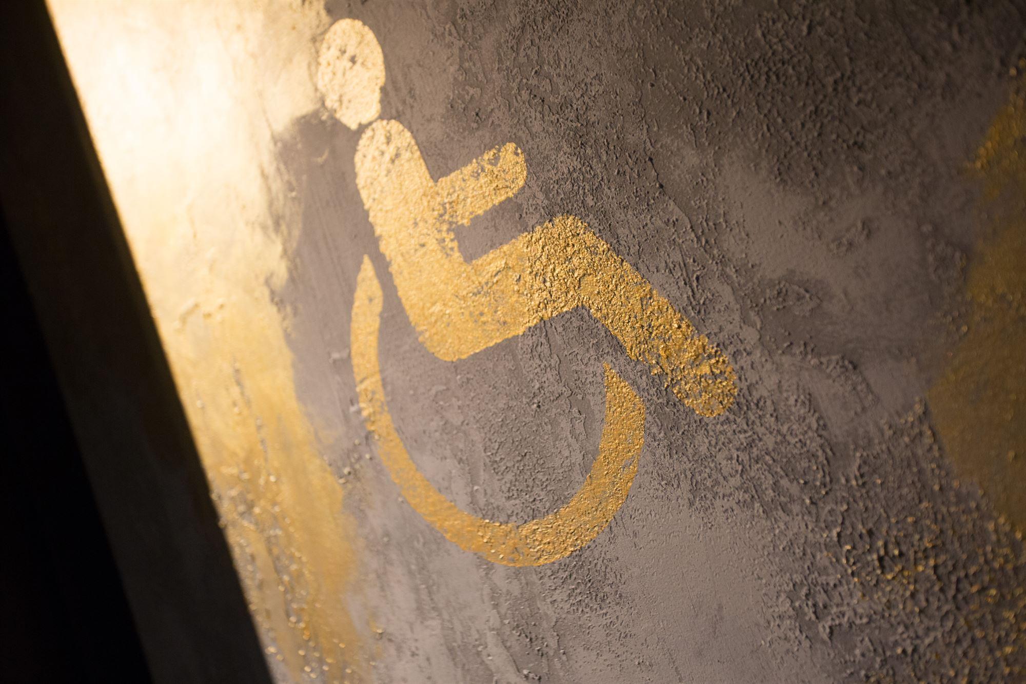 Salle de bain Accessible, espaces publique HOTEL10