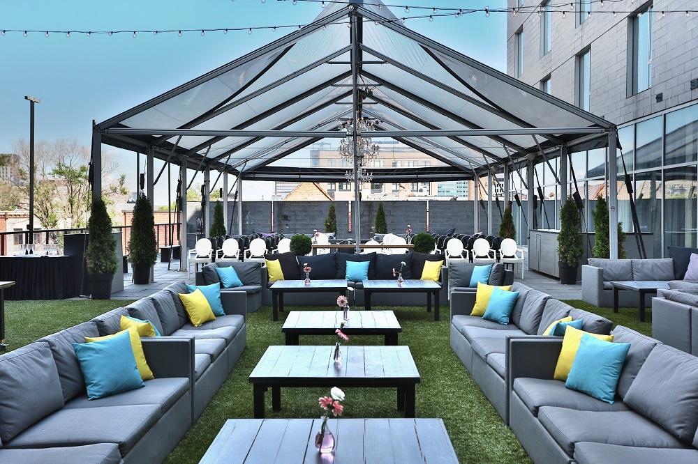 HOTEL10 terrasse de jour